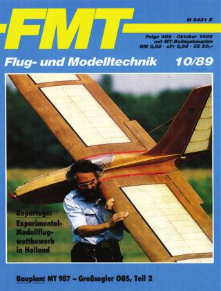 FMT - FLUGMODELL UND TECHNIK 10/1989