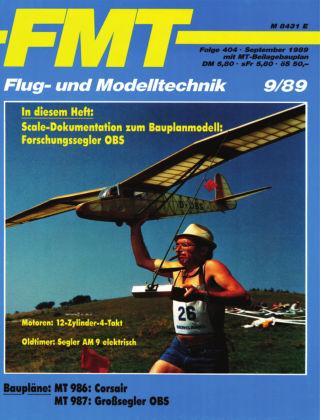FMT - FLUGMODELL UND TECHNIK 09/1989