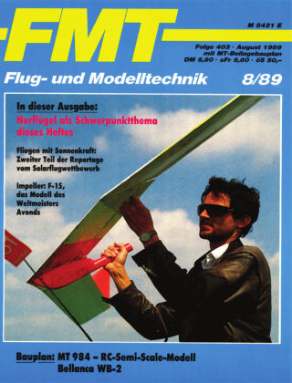 FMT - FLUGMODELL UND TECHNIK 08/1989