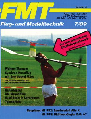 FMT - FLUGMODELL UND TECHNIK 07/1989