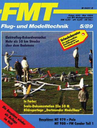 FMT - FLUGMODELL UND TECHNIK 05/1989