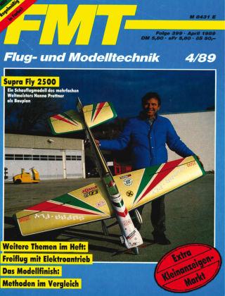 FMT - FLUGMODELL UND TECHNIK 04/1989