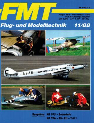 FMT - FLUGMODELL UND TECHNIK 11/1988