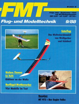 FMT - FLUGMODELL UND TECHNIK 09/1988