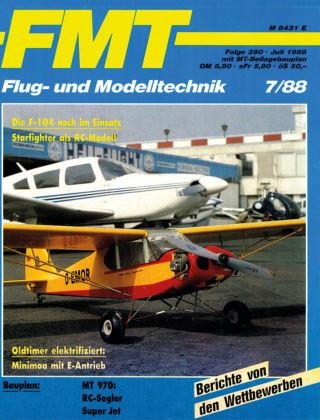 FMT - FLUGMODELL UND TECHNIK 07/1988