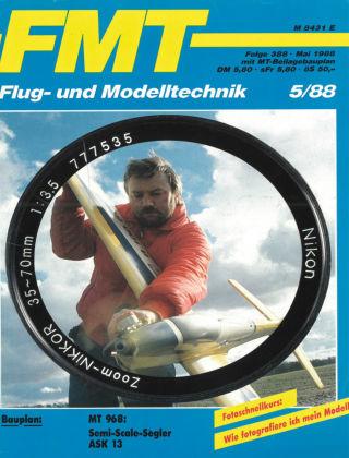 FMT - FLUGMODELL UND TECHNIK 05/1988