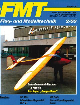 FMT - FLUGMODELL UND TECHNIK 02/1988