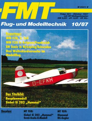 FMT - FLUGMODELL UND TECHNIK 10/1987