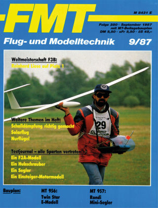 FMT - FLUGMODELL UND TECHNIK 09/1987