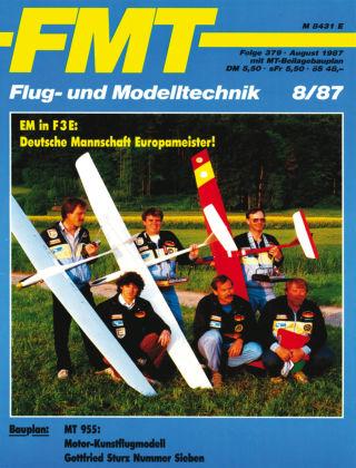 FMT - FLUGMODELL UND TECHNIK 08/1987