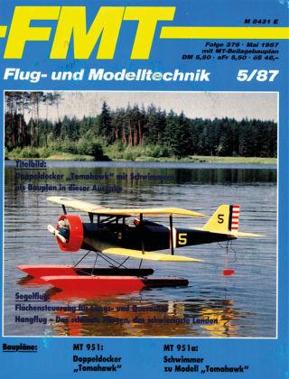 FMT - FLUGMODELL UND TECHNIK 05/1987