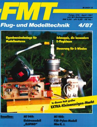 FMT - FLUGMODELL UND TECHNIK 04/1987