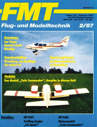 FMT - FLUGMODELL UND TECHNIK 02/1987