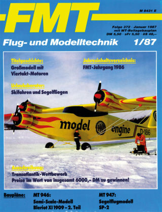 FMT - FLUGMODELL UND TECHNIK 01/1987