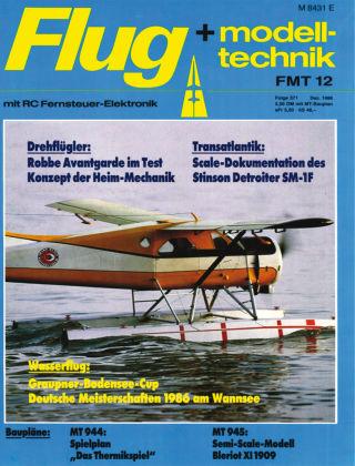 FMT - FLUGMODELL UND TECHNIK 12/1986