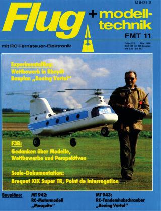 FMT - FLUGMODELL UND TECHNIK 11/1986