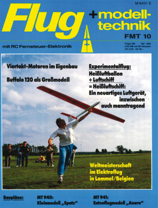 FMT - FLUGMODELL UND TECHNIK 10/1986