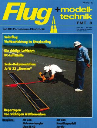 FMT - FLUGMODELL UND TECHNIK 08/1986