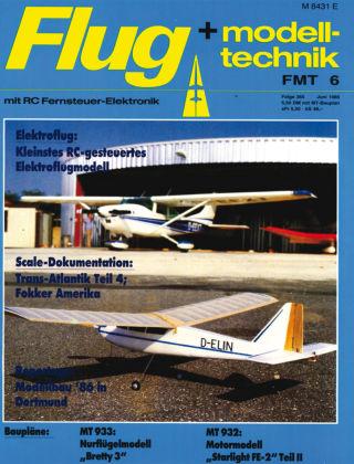 FMT - FLUGMODELL UND TECHNIK 06/1986