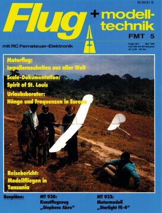 FMT - FLUGMODELL UND TECHNIK 05/1986