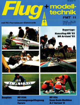 FMT - FLUGMODELL UND TECHNIK 11/1985