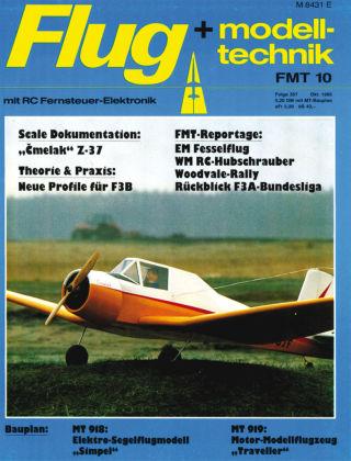 FMT - FLUGMODELL UND TECHNIK 10/1985