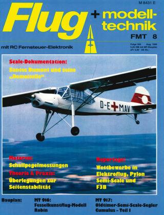 FMT - FLUGMODELL UND TECHNIK 08/1985