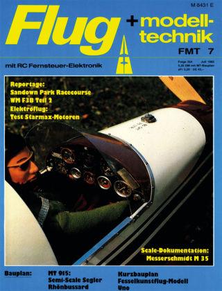 FMT - FLUGMODELL UND TECHNIK 07/1985