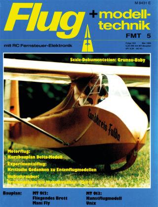 FMT - FLUGMODELL UND TECHNIK 05/1985