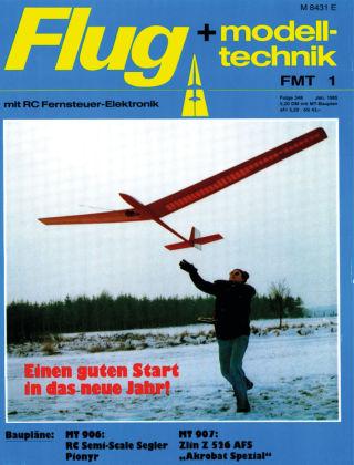 FMT - FLUGMODELL UND TECHNIK 01/1985