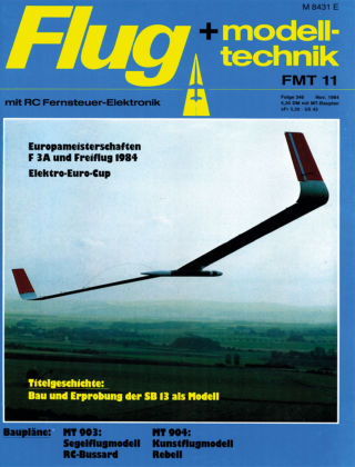 FMT - FLUGMODELL UND TECHNIK 11/1984