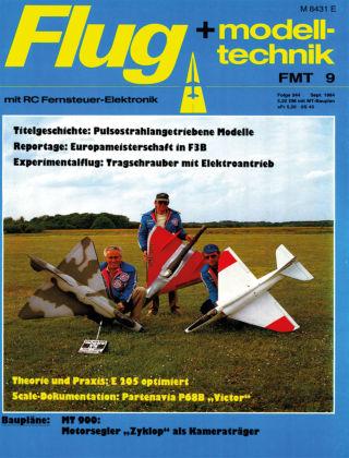 FMT - FLUGMODELL UND TECHNIK 09/1984