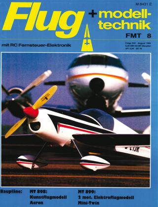 FMT - FLUGMODELL UND TECHNIK 08/1984