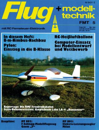 FMT - FLUGMODELL UND TECHNIK 05/1984