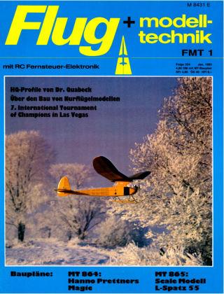 FMT - FLUGMODELL UND TECHNIK 01/1983