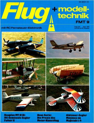 FMT - FLUGMODELL UND TECHNIK 09/1982