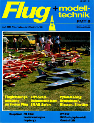 FMT - FLUGMODELL UND TECHNIK 08/1982