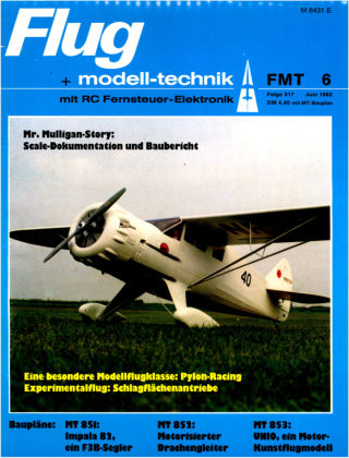 FMT - FLUGMODELL UND TECHNIK 06/1982