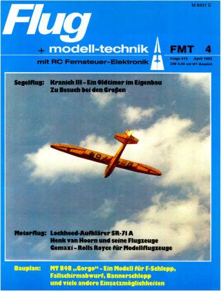 FMT - FLUGMODELL UND TECHNIK 04/1982