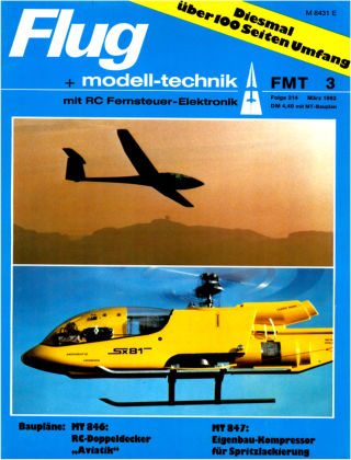 FMT - FLUGMODELL UND TECHNIK 03/1982