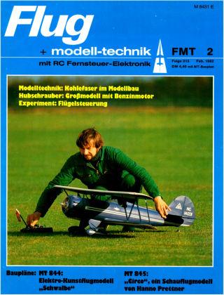 FMT - FLUGMODELL UND TECHNIK 02/1982
