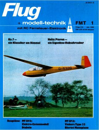 FMT - FLUGMODELL UND TECHNIK 01/1982