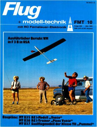 FMT - FLUGMODELL UND TECHNIK 10/1981