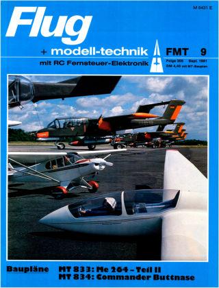 FMT - FLUGMODELL UND TECHNIK 09/1981
