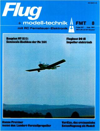FMT - FLUGMODELL UND TECHNIK 08/1981