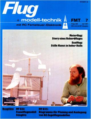 FMT - FLUGMODELL UND TECHNIK 07/1981