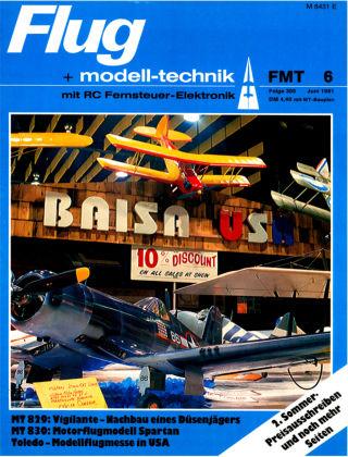 FMT - FLUGMODELL UND TECHNIK 06/1981