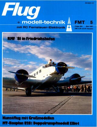 FMT - FLUGMODELL UND TECHNIK 05/1981