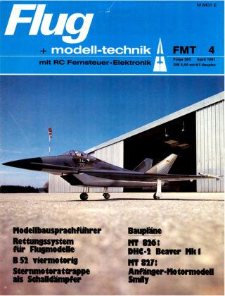 FMT - FLUGMODELL UND TECHNIK 04/1981