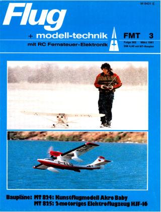 FMT - FLUGMODELL UND TECHNIK 03/1981